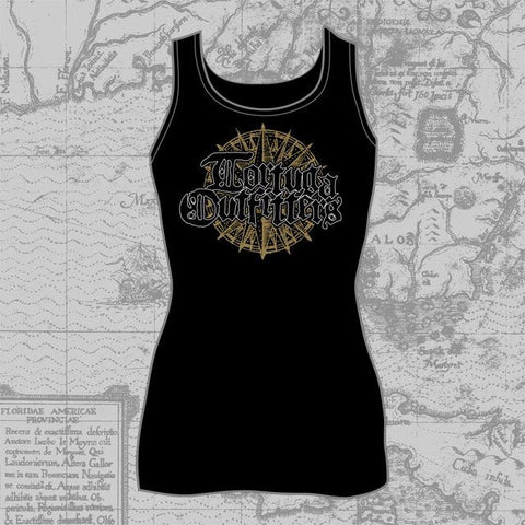 Tortuga Outfitter's Compass - Ladies Tank (Black), #10 Ladies Tank Tops