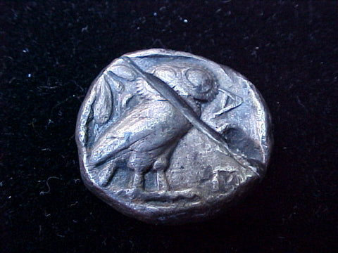 Ancient GREEK ATHENA Silver TETRADRACHM, Attica, Athens, 449-413 B.C, #1245 Ancient Coins