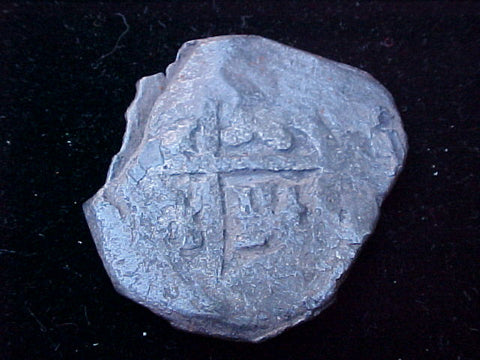 Spanish Old World Silver 8 Reales COB, Seville or Madrid, Charles II. #1301 Colonial Coins