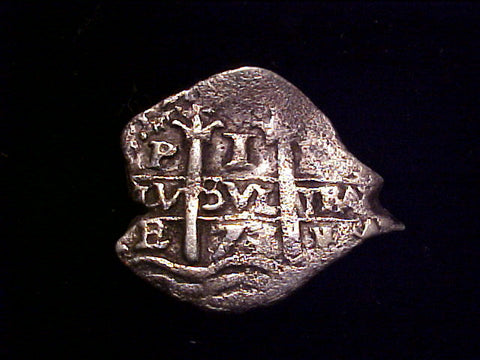 Spanish New World 2 Dates 1677 Silver 1 Reale Pillar Amp Wave Type Co Tortuga Trading