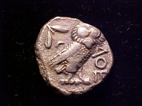 Ancient GREEK ATHENA Silver TETRADRACHM, Attica, Athens, 449-413 B.C., #1359 Ancient Coins