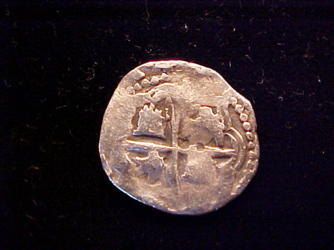 Spanish New World Silver, 1 Reale COB, POTOSI. Philip III-IV, #1365 Colonial Coins