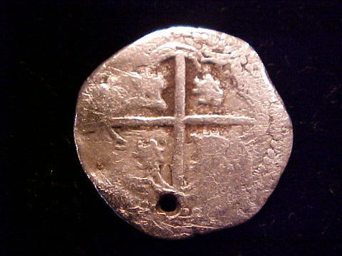 Spanish New World Silver, 1 Reale COB, POTOSI. Philip III-IV, #1369 Colonial Coins