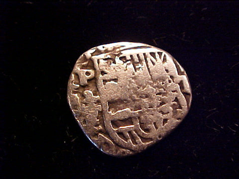 Spanish New World Silver, 1 Reale COB, POTOSI. Philip III-IV, #1388 Colonial Coins