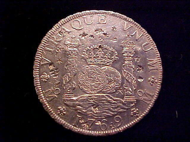 af04a7784128 Spanish New World Silver 1769 MEXICO