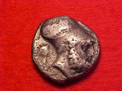 Ancient Greek Silver Metapontion, Lucania NOMOS (Double Stater), ITALY, #1426 Ancient Coins