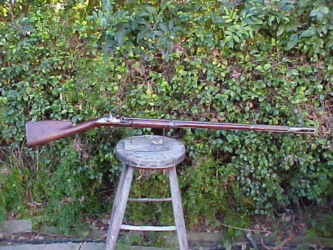 A Wonderful Low Country's or Dutch Flintlock Service Musket, #1435 Firearms