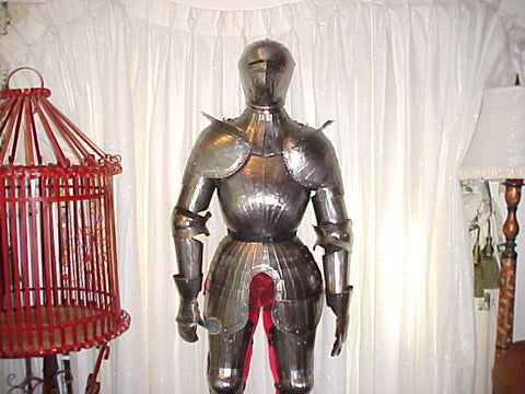 Full Suit of Fluted Armour Referred to as Maximilian after the Emperor Maximilian I (1493-1519) #1515