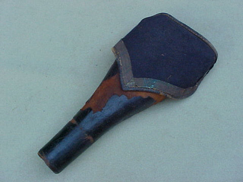 Colonial Period (Single) Flintlock Saddle Holster, #1523 Militaria