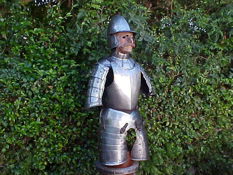 Early 17th Century Spanish/Italian Three-Quarter Suit of Armour #1534