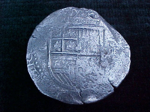 Spanish Old World Silver 8 Reales COB SEVILLE SPAIN PHILIP II III 1775 Colonial Coins