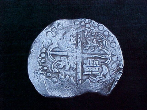 8 Reale, Grade I, Dated 1618?, Assayer, T, #1776  ATOCHA 1622