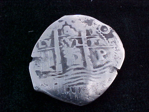 8 Reale COB, Dated 1672, POTOSI, E. PILLAR & WAVE TYPE, #1793 1715 Plate Fleet