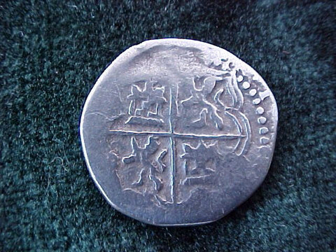New World Spanish Silver 1 Reale COB, POTOSI, Philip II/III, #1814 Colonial Coins