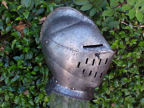 Victorian or earlier COPY of a 16th Century Closed Helmet #1914