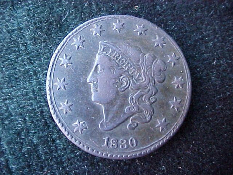 US 1830 Large CENT, #2027 Early US Coins