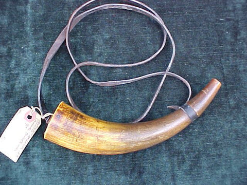 American Colonial Powder Horn, #2080 Powder Flasks