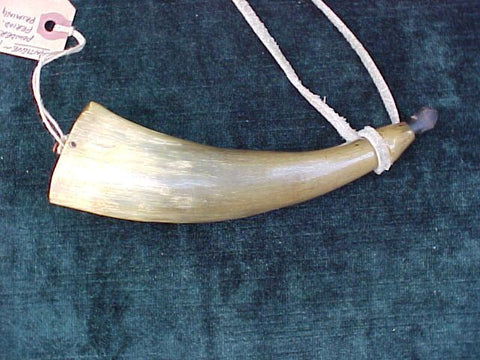 American Colonial Powder Horn, #2083 Powder Flasks