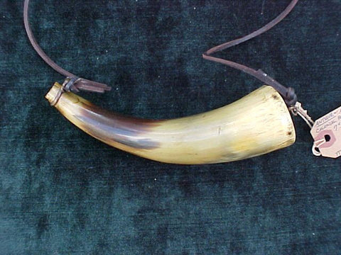 American Colonial Powder Horn, #2090 Powder Flasks