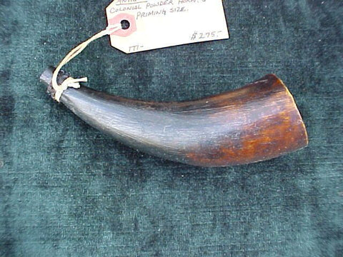 American Colonial Powder Horn, #2094 Powder Flasks