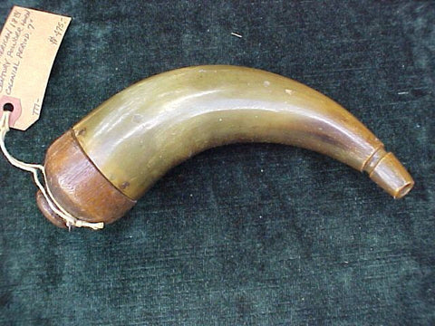 American Colonial Powder Horn, #2095 Powder Flasks
