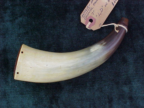 American Colonial Powder Horn, #2097 Powder Flasks