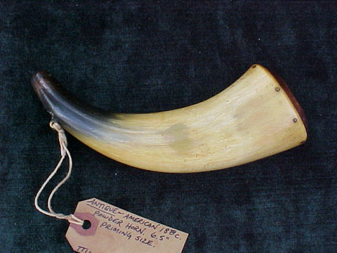 American Colonial Powder Horn, #2098 Powder Flasks