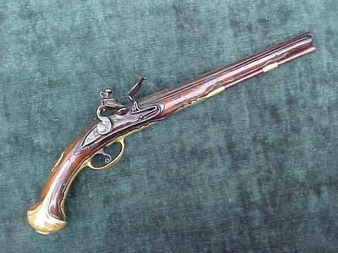 Large 17th Century Italian Horse Pistol, #2107 Firearms