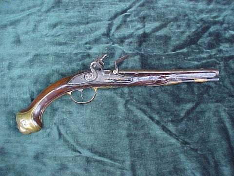 Dutch Flintlock Holster Pistol, #2432 Firearms