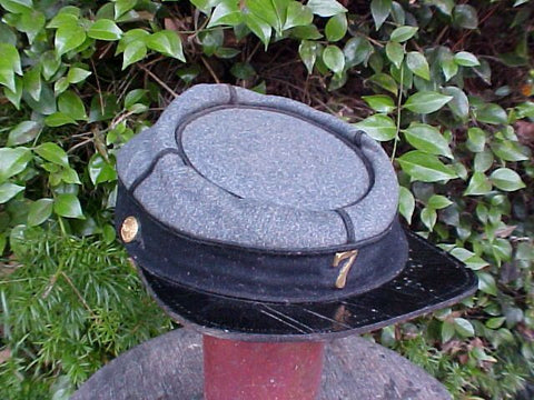 Civil War Period 7th NEW YORK STATE MILITIA Kepi, #2601 Militaria