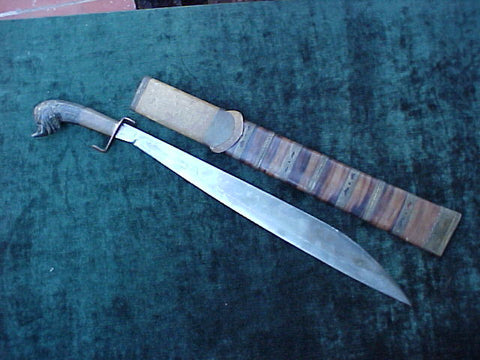 A Malay, Indonesian or Philippine Machete/GOLOK, #2631 Edged Weapons