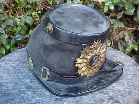 Unidentified Civil War Period ? Militia Kepi