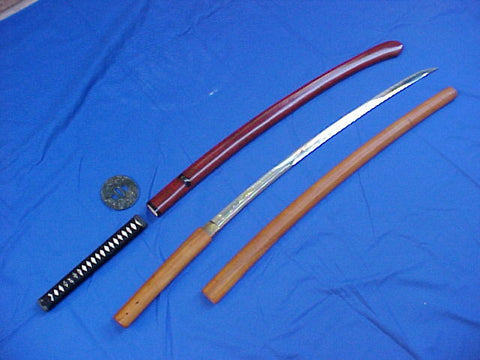 A Fine Antique Japanese KOTO Period Katana, #2694 Edged Weapons