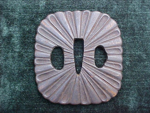 A Japanese Edo Period Tsuba, #2697 Edged Weapons