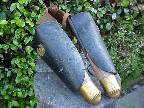 Pair of Saddle Holsters for the Pistol., #2721 Militaria