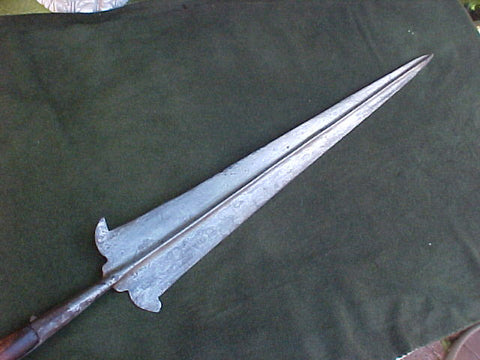 A European PARTIZAN Pole Arm, #2781 Edged Weapons