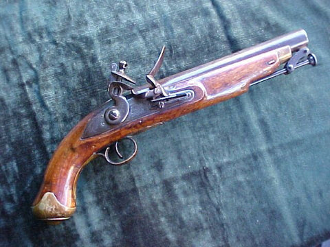 Contract British Light Dragoon Flintlock Pistol by, BRANDER & POTTS, LONDON, #2818 Firearms