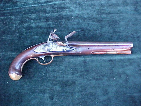 American WAR OF 1812 US Navy Model 1808 Contract Flintlock Ship's Pistol by, S. NORTH, #3070 Firearms