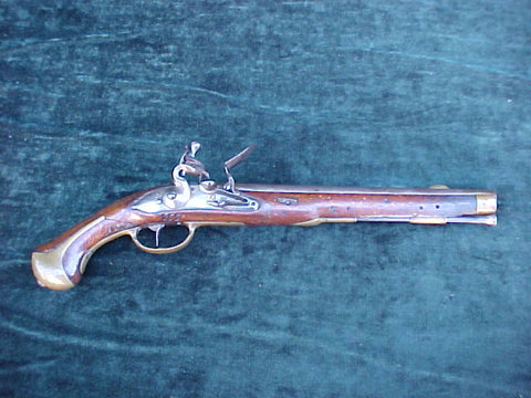 Danish Military Model 1772 Heavy Dragoon Flintlock Holster Pistol, #3080 Firearms