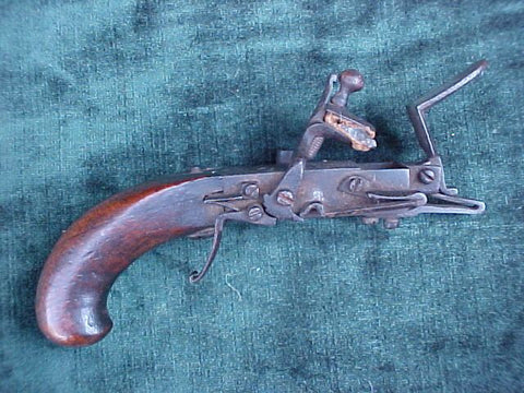 Antique Colonial Flintlock Tinder Lighter, #3120 Firearms