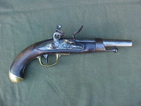 Rare Dutch Navy Flintlock Service Pistol, #3137 Firearms