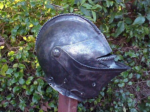 A European Close Helmet #3181
