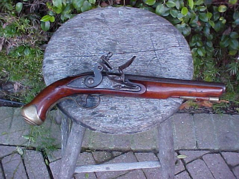 A Fine British Military Light Dragoon Flintlock Pistol, TOWER, London, #3191 Firearms