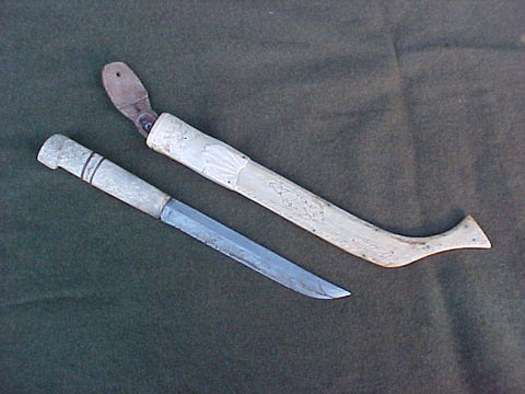 Interesting Alaskan Knife, #3251 Edged Weapons