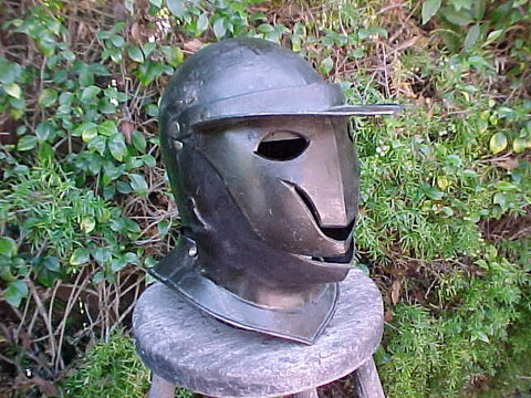 An Interesting Italian Close Helmet of so-called SAVOYARD Type #3279