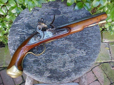 A Fine British Military Light Dragoon Flintlock Pistol, TOWER, London , #351 Firearms