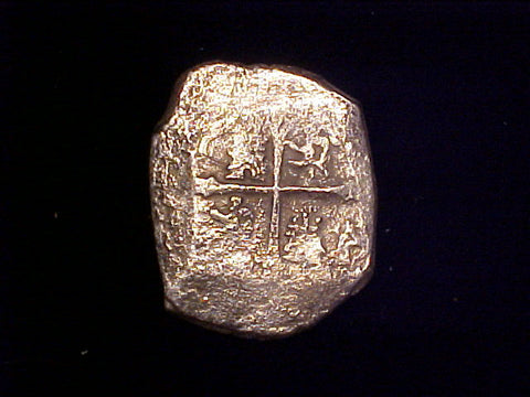 8 Reales COB, Mexico City, CHARLES II, #402 1715 Plate Fleet