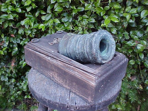 Small Bronze Signal Mortar, 17th-18th Century, #427 Cannons