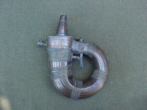 Indo - Arab Powder Flask, #712