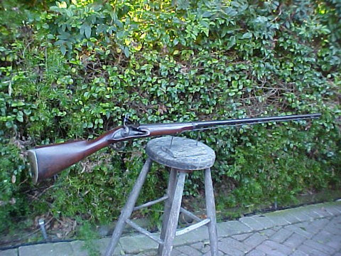 Massive English/American Colonial Flintlock Long Fowler, #749 Firearms